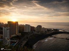 Hendrik Roggemann originally shared this post: Sunset at Puerto de la Cruz - Tenerife  More photos from Hendrik Roggemann