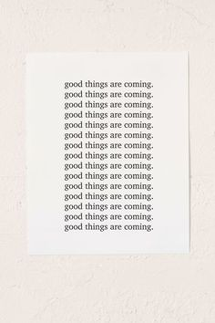 Honeymoon Hotel Good Things Are Coming Art Print & Urban Outfitters The post Honeymoon Hotel Good Things Are Coming Art Print appeared first onHoneymoon. Remodeling Costs, Home Remodeling, Change Quotes, Quotes To Live By, Honeymoon Hotels, Honeymoon Ideas, Wood Molding, Amazon Home, Creative Illustration