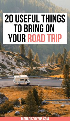Road Trip Packing List: 20 Things You Shouldn't Travel Without | road trip essentials | road trip packing list | summer road trip packing list | things to bring on a road trip packing lists | cross country road trip packing list | what to take on a road trip packing lists | things to take on a road trip packing lists | what to bring on a road trip packing lists | long road trip packing list | road trip essentials list | ultimate road trip packing list | road trip packing list travel… Road Trip Packing List, Road Trip Europe, Road Trip Essentials, Road Trip Hacks, Travel Packing, Travel Checklist, Packing Lists, Travel Advice, Road Trips