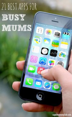 I think these are the best apps for busy moms!
