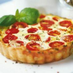 Torta salata #pomodoro #mozzarella  #tortesalate #ricette