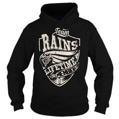 Team RAINS Lifetime Member (Dragon) - Last Name, Surname T-Shirt