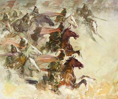 Charge of the Tiger cataphracts, Ancient China