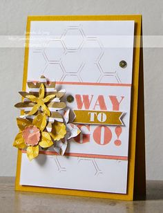 Stampin' Up! Demonstratrice Janneke : Stampin' Up! - Way to Go!