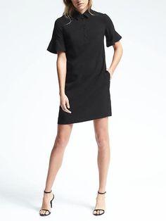 black polo dress