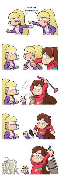 Um, Mabel? by markmak on deviantART