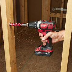 Milwaukee Li-Ion Cordless Compact Electric Drill Driver Kit With 2 Batteries — Keyless Chuck, 1800 RPM, Model# Woodworking Software, Woodworking Furniture Plans, Woodworking Hand Tools, Cordless Drill Reviews, Milwaukee M18, Drill Driver, Wood Plans, Wood Working For Beginners, Diy Wood Projects