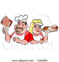 cartoon images of chefs grilling - Google Search