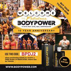 Bodypower Ambassador Promo Code BPDJ2