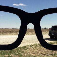Buddy Holly Glasses With Jeep Cherokee
