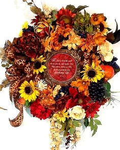 Share your faith without saying a word with this stunning Tuscan Spiritual Wreath John 3:16 Old World style picture by Cabin Cove Creations