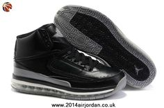 new concept b7bc9 681e9 Wholesale Cheap Original Air Cushion Black Grey Nike New Jordans 2(II) Retro  Basketball · Jordan ...