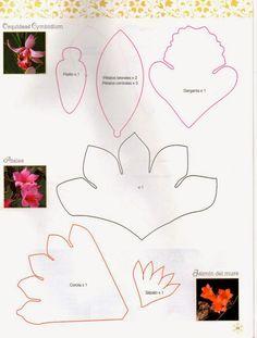 Revistas de manualidades Gratis: Como hacer rosas en foamy