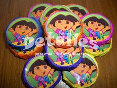 Golosinas personalizadas Dora la exploradora