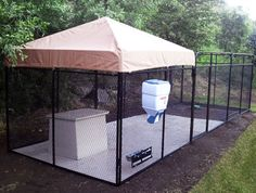 Dog Kennels for Sale, Kennel Cages, Canine Kennels, AKC Kennels, Dog Runs Outdoor Dog Runs, Dog Cage Outdoor, Outdoor Dog Area, Backyard Dog Area, Backyard Ideas, Chickens Backyard, K9 Kennels, Dog Enclosures, Outside Dogs