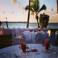 Stunning setup over the lawn by the Beach at Sheraton Fiji Resort Exotic Wedding, Wedding Receptions, Fiji, Wedding Locations, Lawn, Table Decorations, Bride, Beach, Home Decor