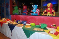 Superheroes party by L'altra D deco party