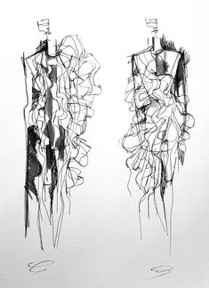 awesome Fashion Sketchbook - fashion design draw... Fashion iIlustrations Check more at http://pinfashion.top/pin/52773/