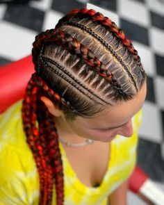 Braids Hairstyles 2020 You Must Look Totally different African Braids Hairstyles, Braided Hairstyles, Cornrow Braid Styles, Beautiful Hair Color, Braids For Black Hair, Celebrity Hairstyles, Prom Hair, Hair Styles, Box Braids