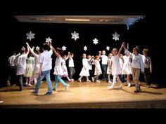 SpŠ sv. F. Assiského Malacky - Tanečná skupina Malkáči - tanček V zime - YouTube