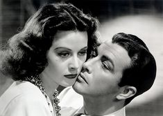 Hedy Lamarr, With Robert Taylor from 'Lady of the Tropics' 1939   Flickr - Photo Sharing!