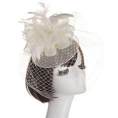 Femmes Mariage Chapeau Bibi races Royal Ascot parties avec bandeau Clip