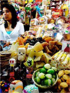 Mercado de Dulces, Morelia, Michoacan