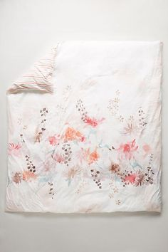 Lelie Duvet - anthropologie.com Duvet Bedding, Home Textile, Furniture Decor, Interior Inspiration, Bed Pillows, Anthropologie, Textiles, Tapestry, Quilts