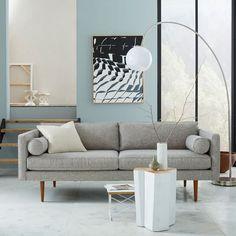 Monroe Mid-Century Sofa   west elm