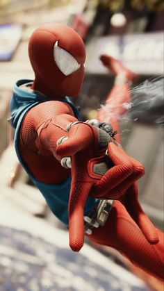 Scarlet spider - r Amazing Spiderman, Spiderman Spider, Black Spiderman, Marvel Comic Universe, Marvel Dc Comics, Marvel Heroes, New Spiderman Costume, Spiderman Cosplay, Spider Costume