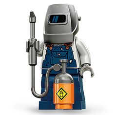 Amazon.com: LEGO Minifigures Series 11 Welder Mini Figure