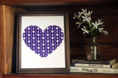 This colorful Kansa State Wildcats heart print is an original pattern, designed with the Kansa State Wildcats colors and symbols in mind.…
