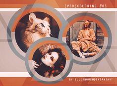 [PSD] Coloring #05 by ellesnows.deviantart.com on @DeviantArt