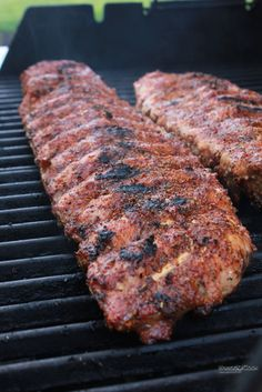 Sweet, Spicy and Smoky Dry Rub.