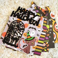 Dream maker Pebbles Trick Or Treat Mini Album Kit Type House - スクラップブッキング素材店 Dream Maker
