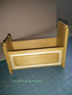 CREATIONS OF NOYULOU:crib  reproduced in miniature