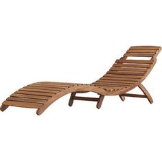 Wooden Lounge Chair for DECK!!!