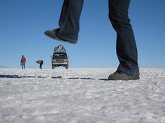 Salar de Uyuni, Bolivia...been there, but couldn't get the photos right...have to steal ones from others!