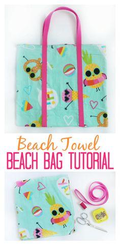Beach Towel Beach Bag