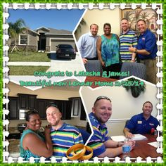 Another happy customer! Closed on a new Lennar Home in Deerfield Lakes. Need a Florida Realtor? Call 813.507.8348