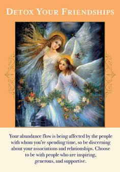 Oracle Card Detox Your Friendships | Doreen Virtue - Official Angel Therapy Website