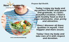 Purpose 836 Health
