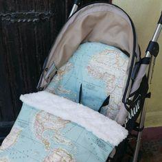 Universal #stroller bundle bag PDF #Pattern . Saco universal Silla Bebé y Bolso #sewing #sewalong #diy #costura #patrones