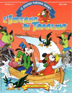 L'INFERNO DI TOPOLINO - Le Grandi Parodie Disney n. 4 (1992)