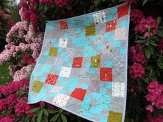 Finished or Not Friday Linky party at Busy Hands Quilts!  Jen's Crafts and Quilts Scrapbook: Apple Patch