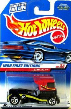 Mattel Hot Wheels 1999 First Editions 1:64 Scale Red & Black Semi-Fast Die Cast Car #008 by Mattel, http://www.amazon.com/dp/B000K6P7HU/ref=cm_sw_r_pi_dp_wyBRpb1CJ46ZZ