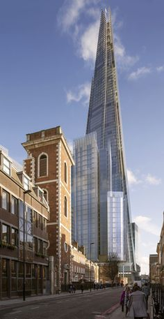 Renzo Piano Gains Planning Permission for Shard-Adjacent Residential Tower,View from Thomas Street looking East. Image Courtesy of RPBW