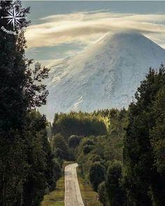 Hermosa vista del Volcán Osorno en la Región de Los Lagos al Sur de Chile Fotografía: Tania Moller.