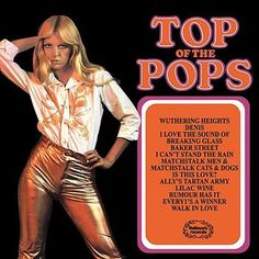 top of the pops vinyl album - Bing images Lp Cover, Vinyl Cover, Nostalgic Music, 1970s Music, Classic Album Covers, Pin Up Girl Vintage, Pop Albums, Walk In Love, Pochette Album