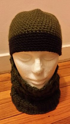Crochet Hat and neck warmer